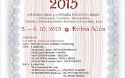 Celoštátna súťaž Dolná Súča 2015